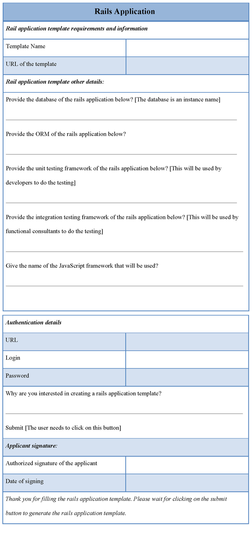 rails application template