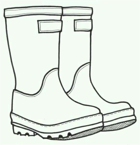 Rain Boots Template Keptalalat A Kovetkezore Elementary Project Rain Boots