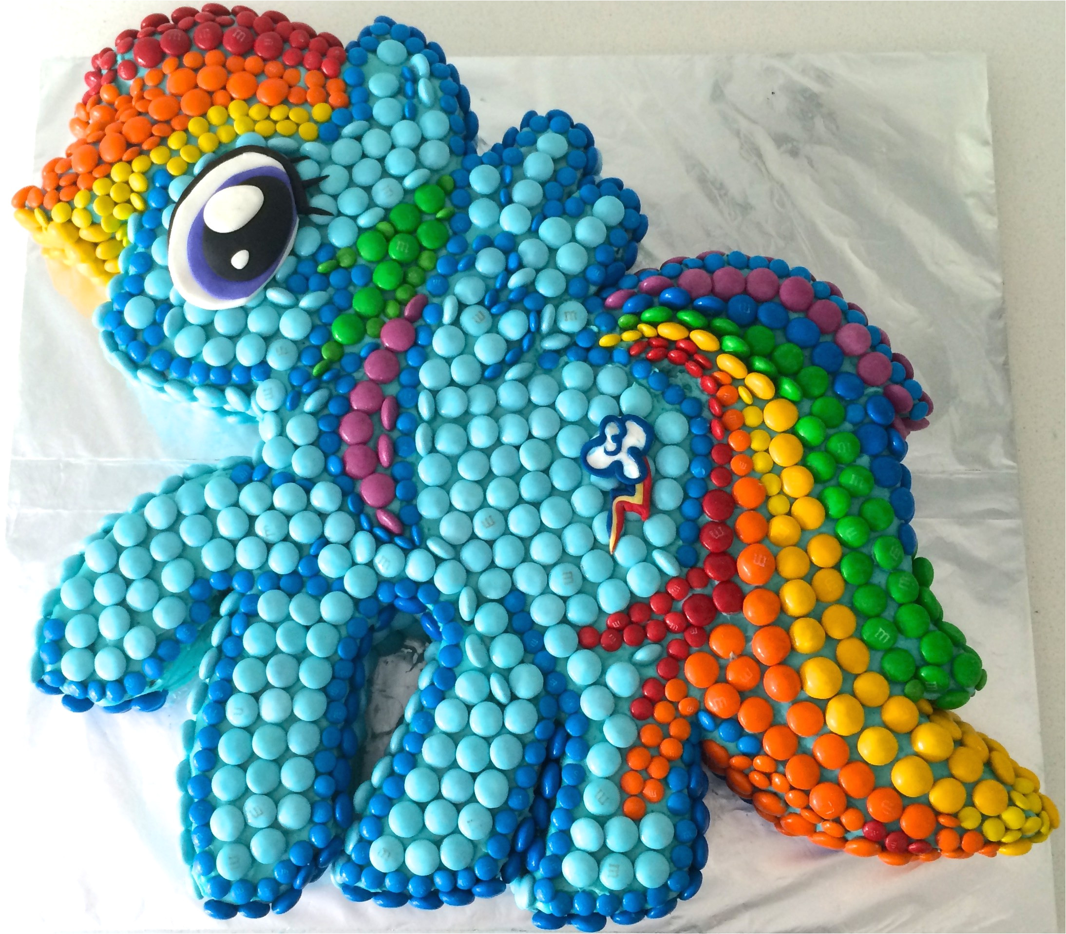 little pony cake rainbow dash