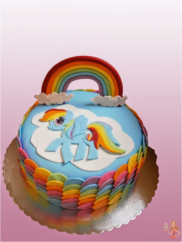 my little pony rainbow dash cake m 1