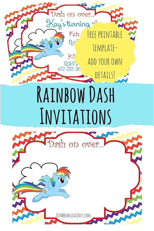 Rainbow Dash Cake Template so Cute Free Rainbow Dash Party Invitations Perfect for
