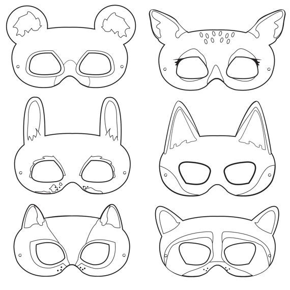 Rainforest Animal Templates 6 Best Images Of Free Printable Animal Masks Printable