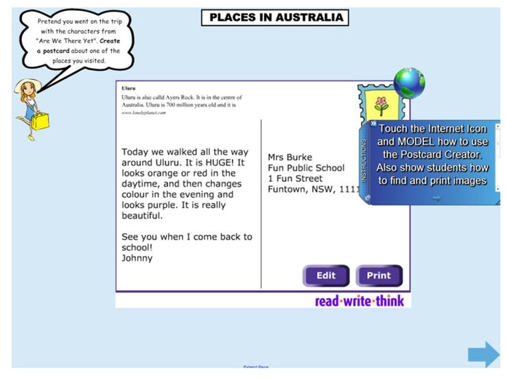 read write think postcard template download 110 best geography images on pinterest