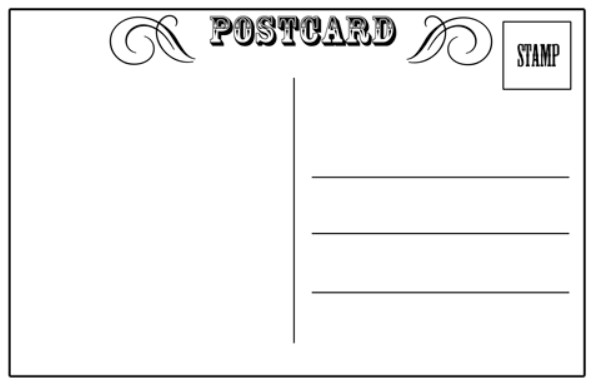 Read Write Think Postcard Template Schroeder Art Docents