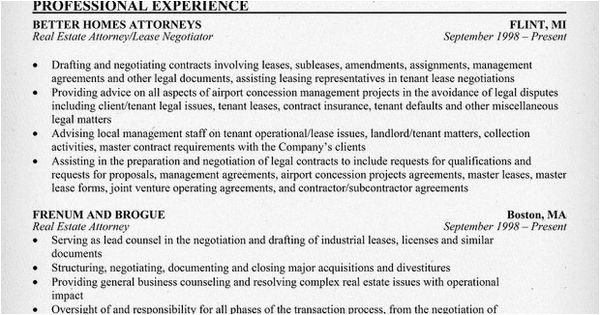 Real Estate attorney Cover Letter Real Estate attorney Resume Example Resume Samples