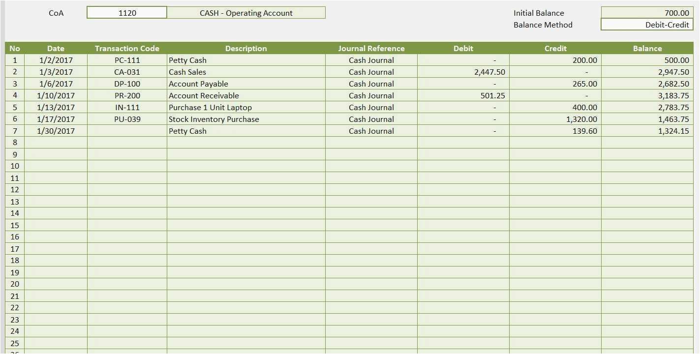 Real Estate Trust Account Ledger Template Real Estate Trust Account Ledger Template Gallery