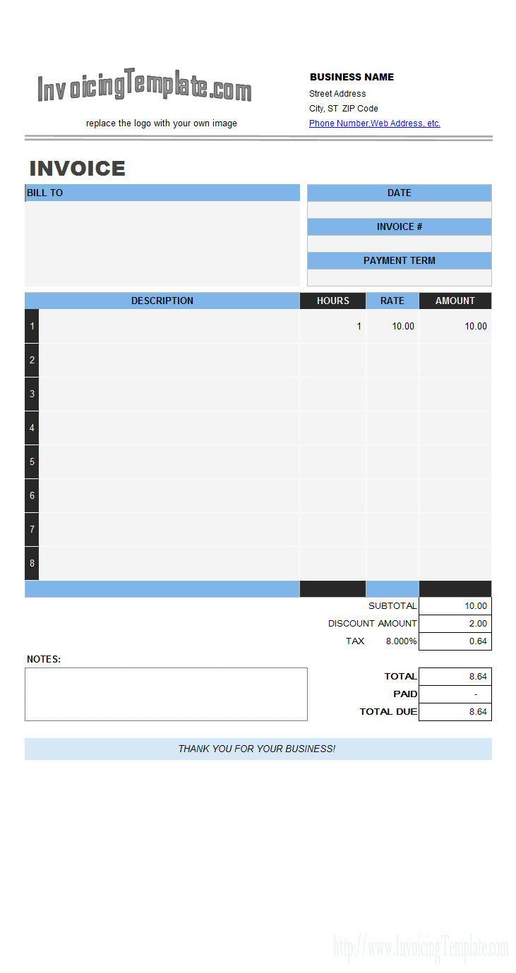 labor receipt template
