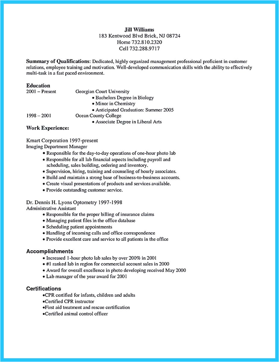 Reimbursement Specialist Resume Sample Exciting Billing Specialist Resume that Brings the Job to You