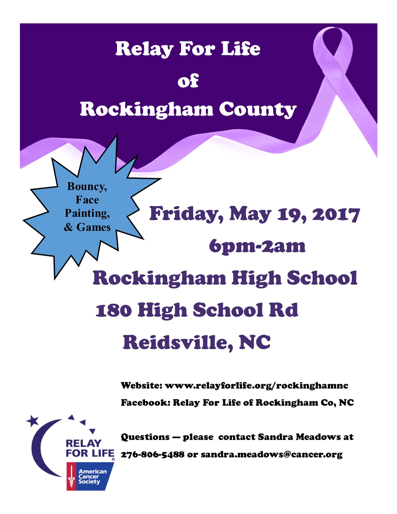 relay for life of rockingham county 7427