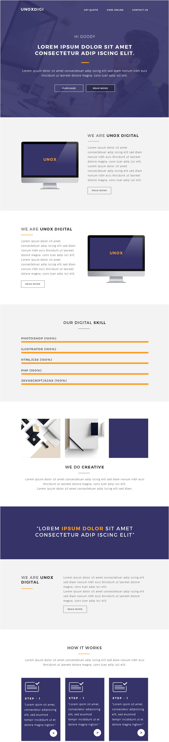 Responsive Email Template Tutorial 35 Best Responsive Email Templates 2015