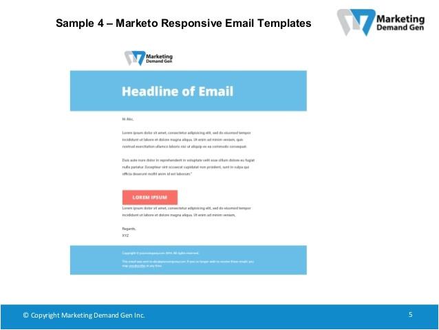 marketo responsive email templates