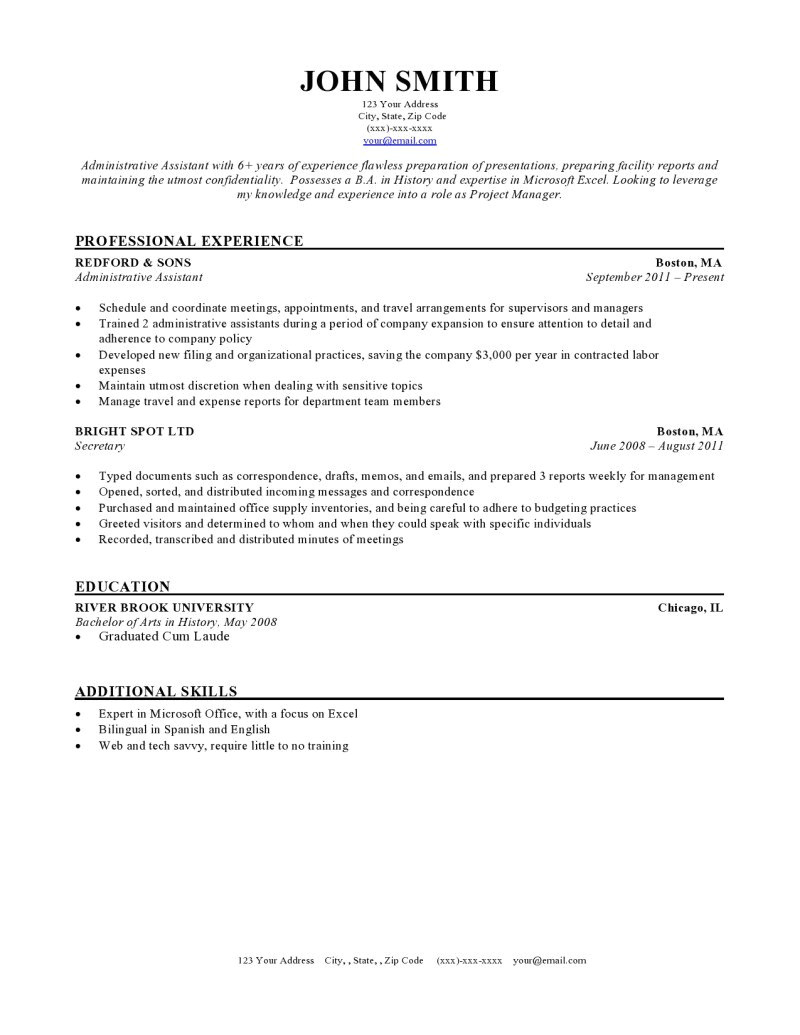Ressume Templates Expert Preferred Resume Templates Resume Genius