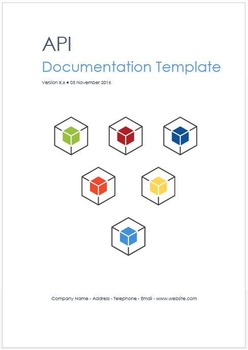 rest web api documentation template ms word
