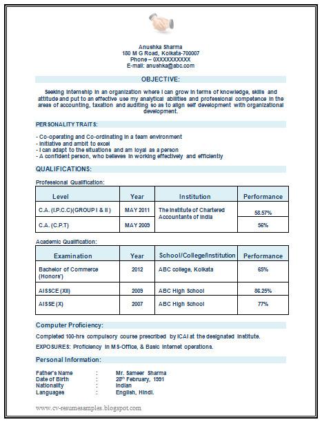chartered accountant ca articleship