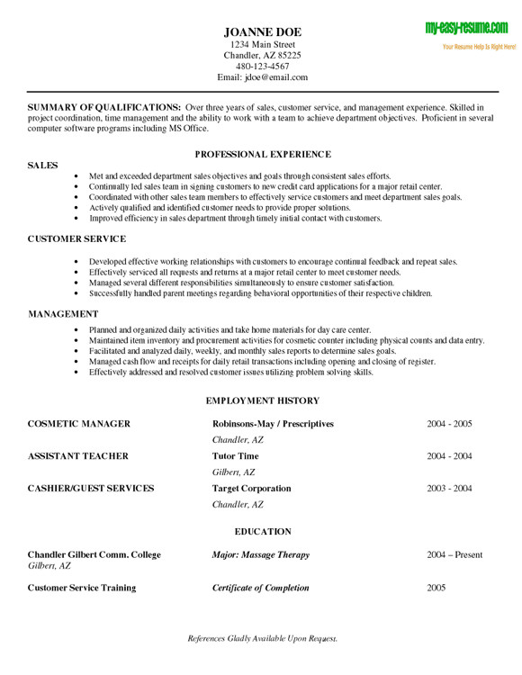 Resume Samples for Entry Level Positions Entry Level Job Resume Samples Experience Resumes