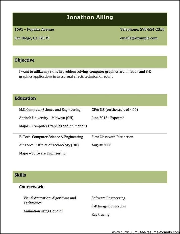 Resume Samples for Experienced Professionals Free Download Resume Samples for Experienced Professionals Free Download