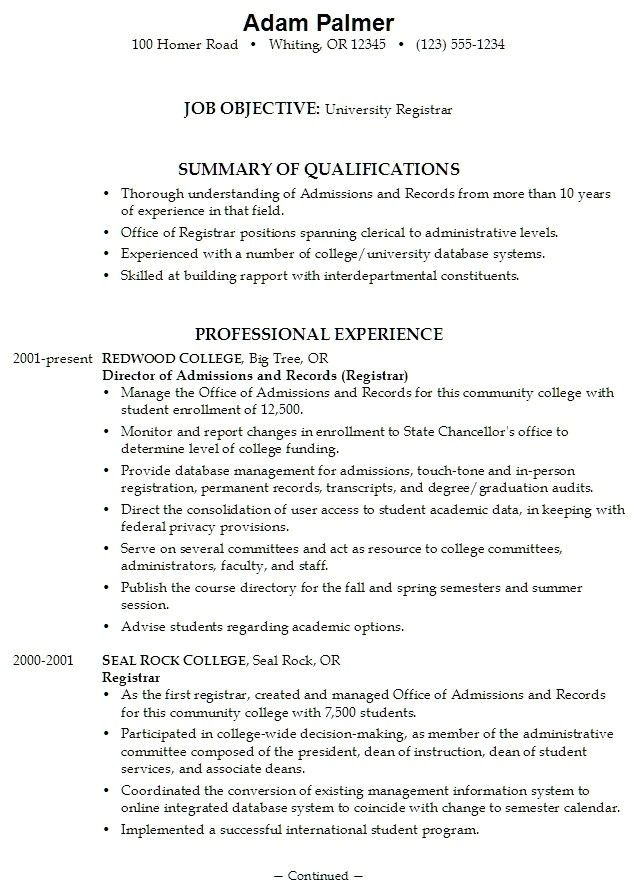 college application resume examples for high school seniors