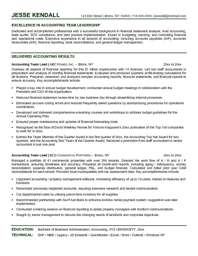 bpo team leader resume