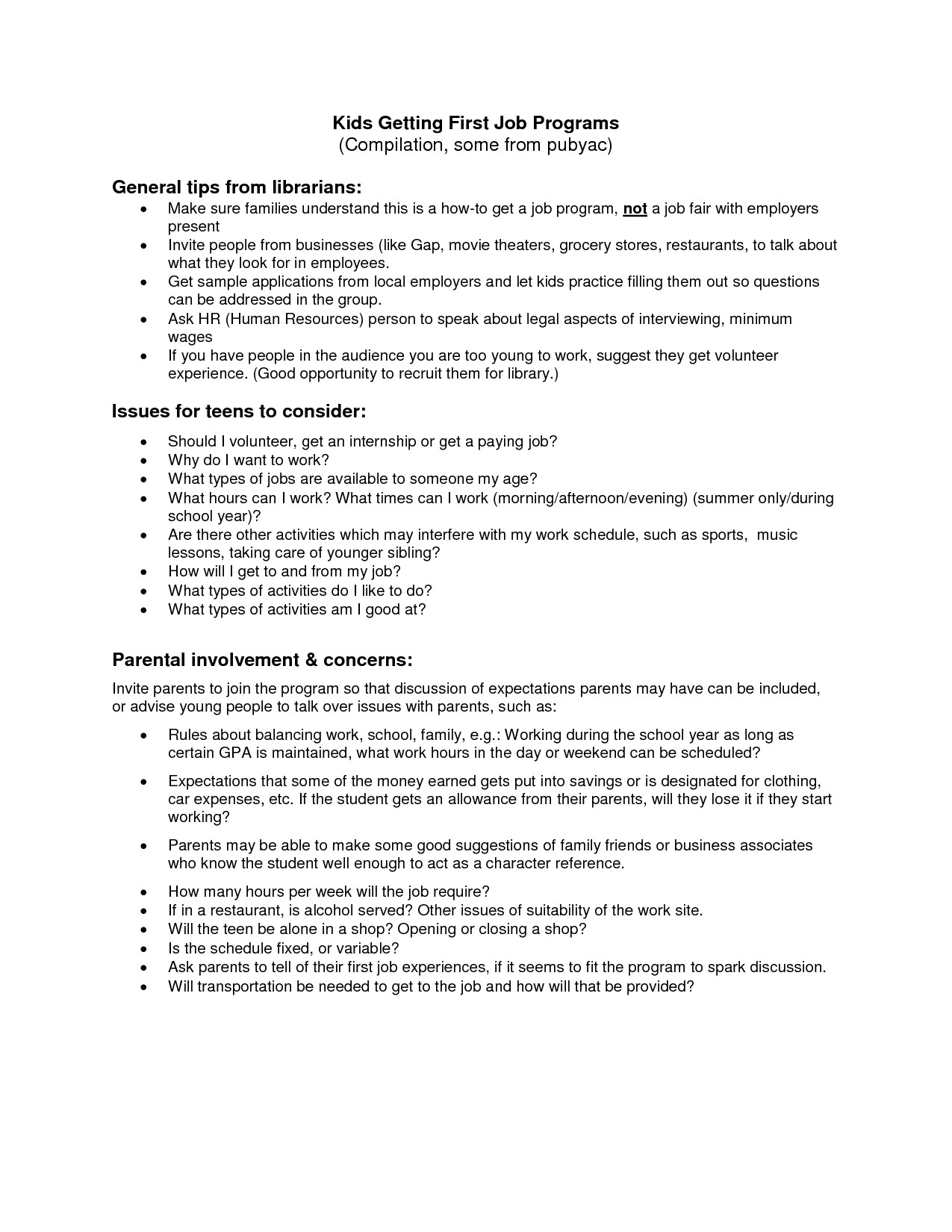 Resume Samples for Teenage Jobs First Job Resume Template Health Symptoms and Cure Com