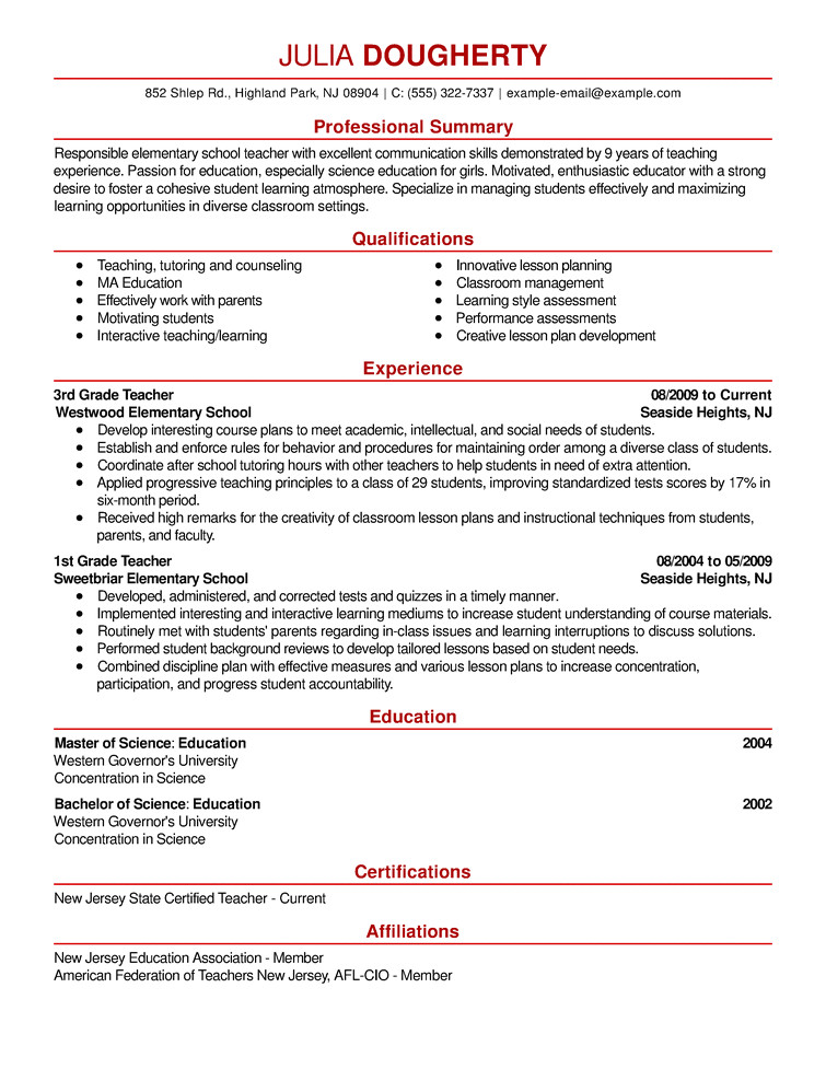 Resumes.com Samples Resume Samples the Ultimate Guide Livecareer