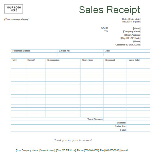 retail receipt template fieldstationco sales receipt maker