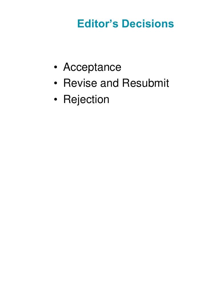 ana marui the peer review process