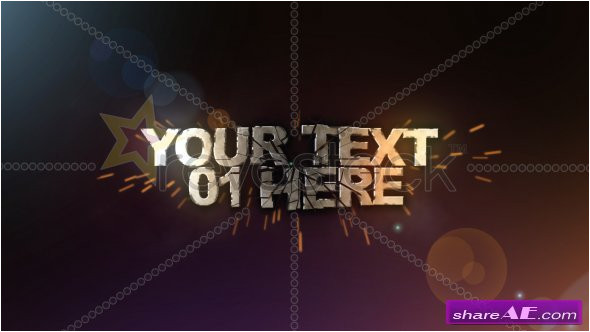 Revostock after Effects Templates Free Download 3d Text Shatter after Effects Project Revostock Free