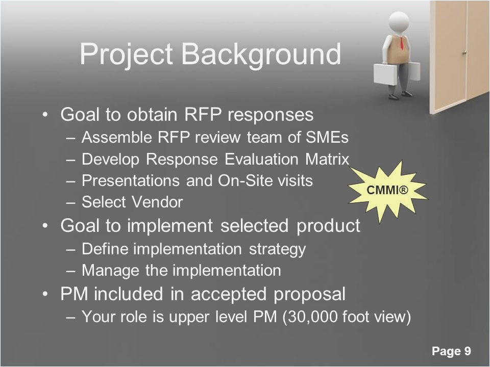 rfp powerpoint presentation