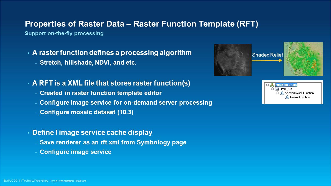 Rft Template Caching Imagery Using Arcgis Ppt Video Online Download
