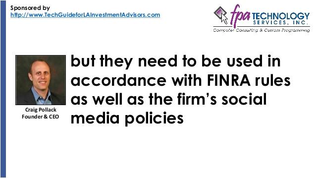 ria social media policy