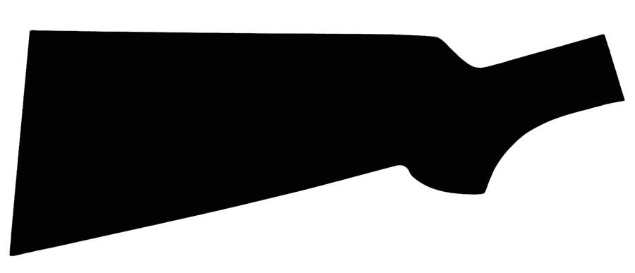 Rifle Stock Template Gunstock Blanks Layout Template Pattern L Item