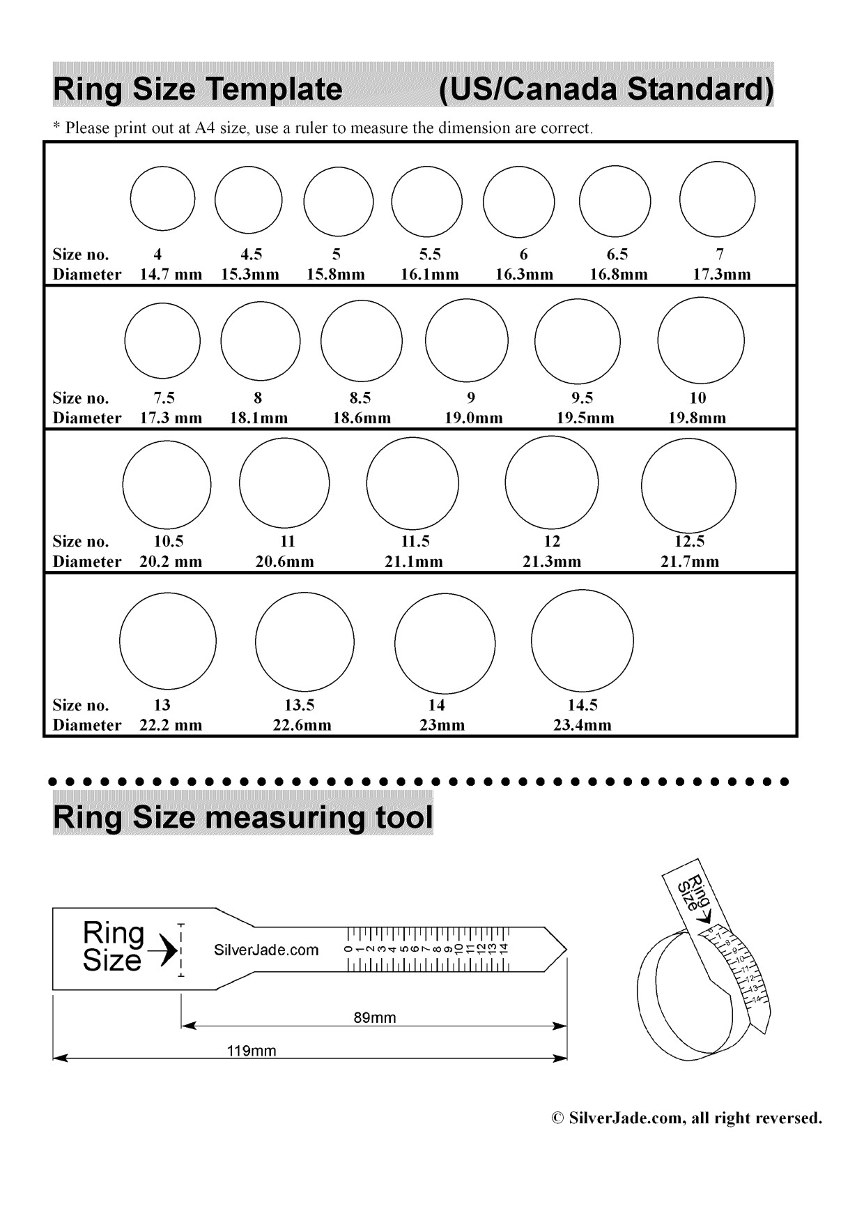 ring size template