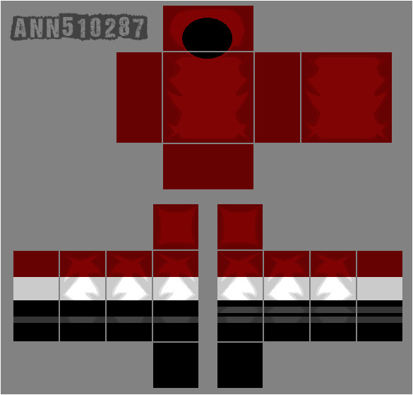roblox red shirt template 422042798