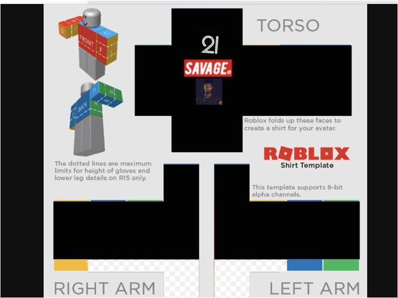 roblox shirt template 6233