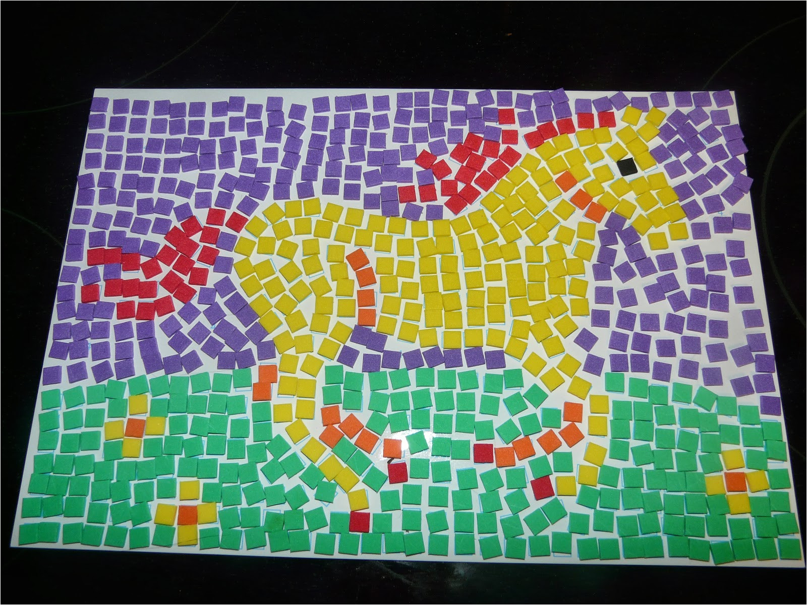printable mosaic patterns for kids