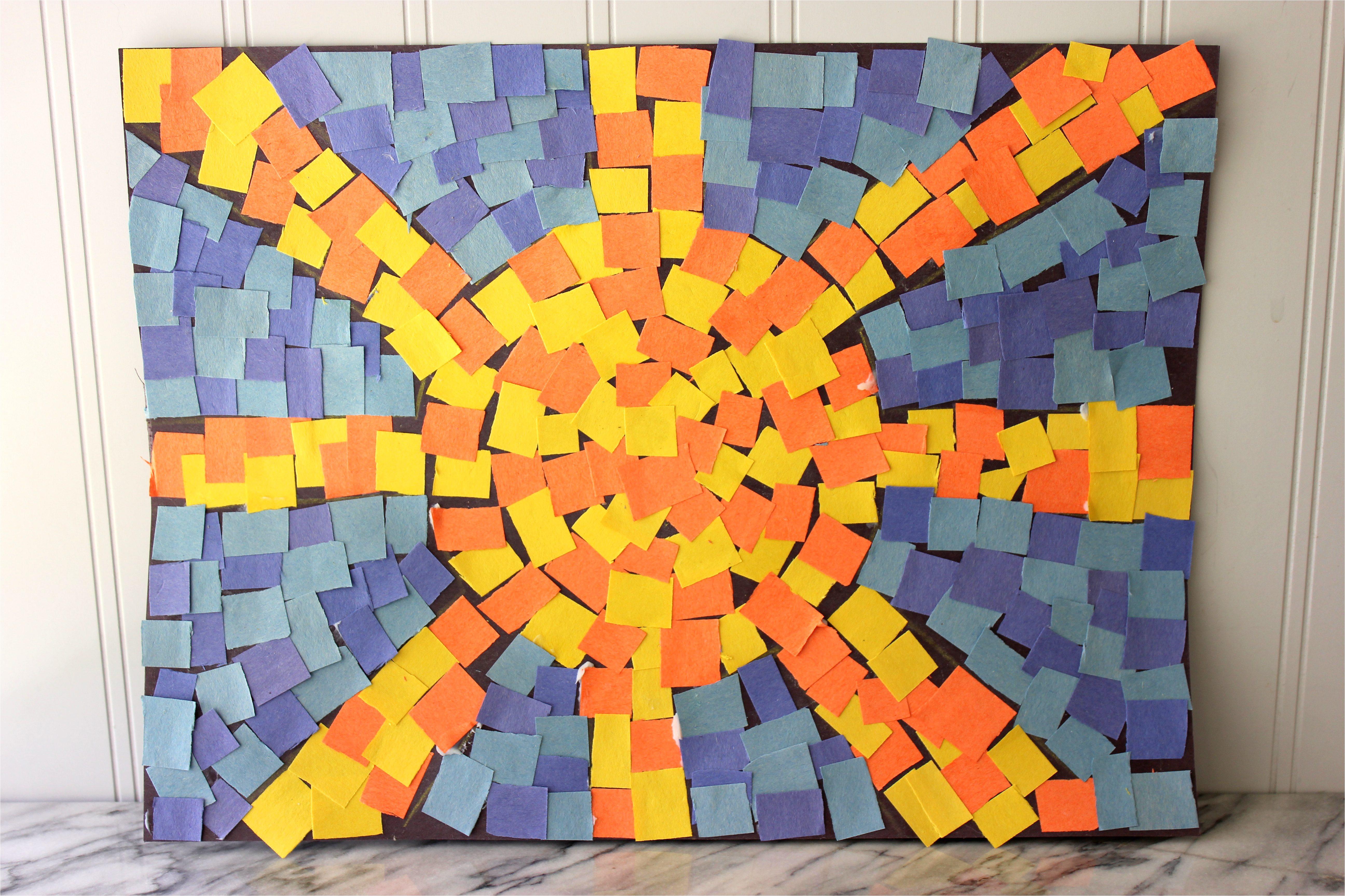 how 7761919 make roman mosaics kids