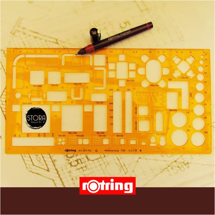 rotring template furniture 150
