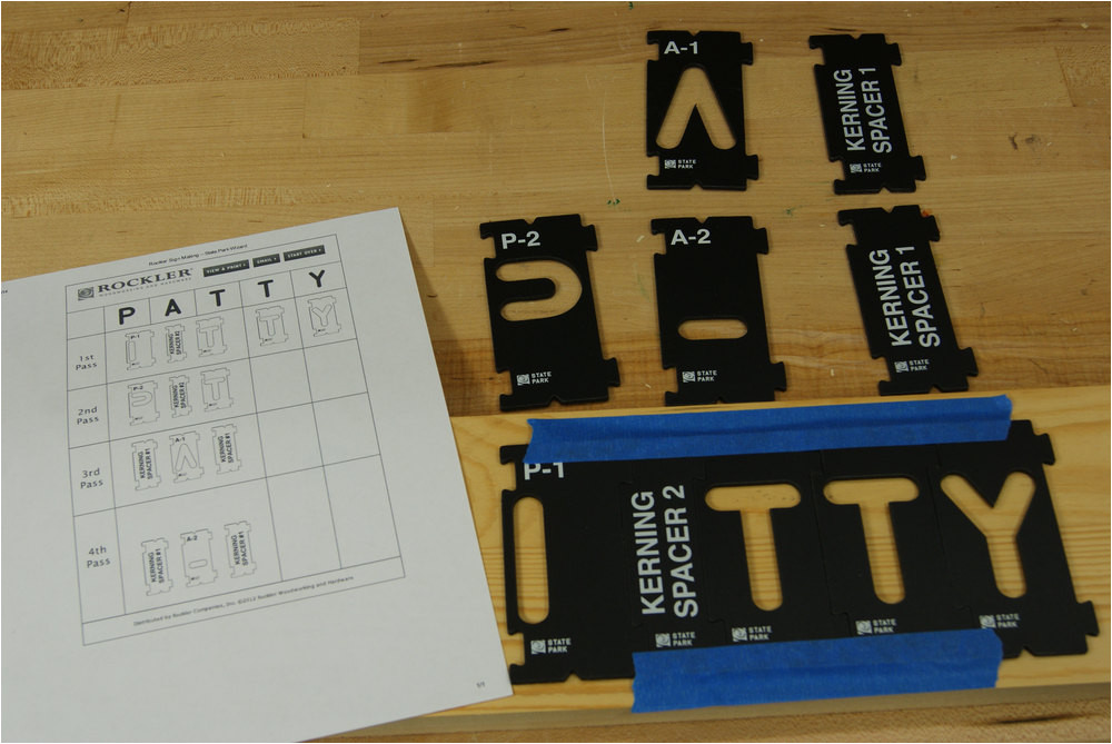 Router Lettering Template Sets Router Templates Letters Images Template Design Ideas