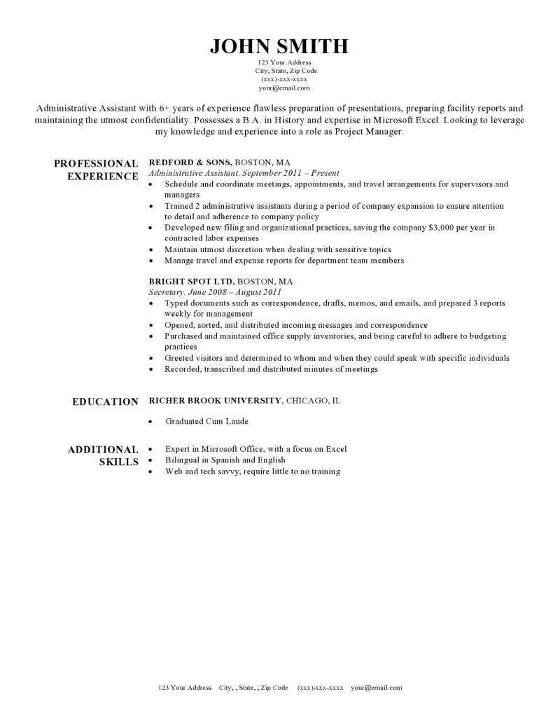 Rsume Template Free Resume Templates for Word the Grid System