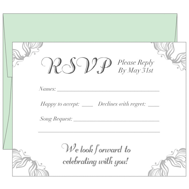 rsvp cards wedding cards