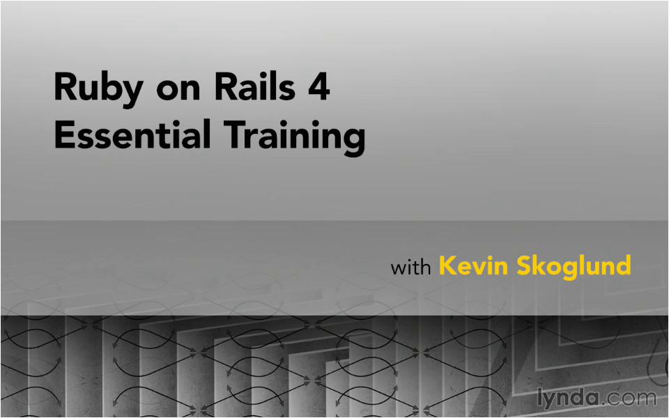 ruby rails essential training repost