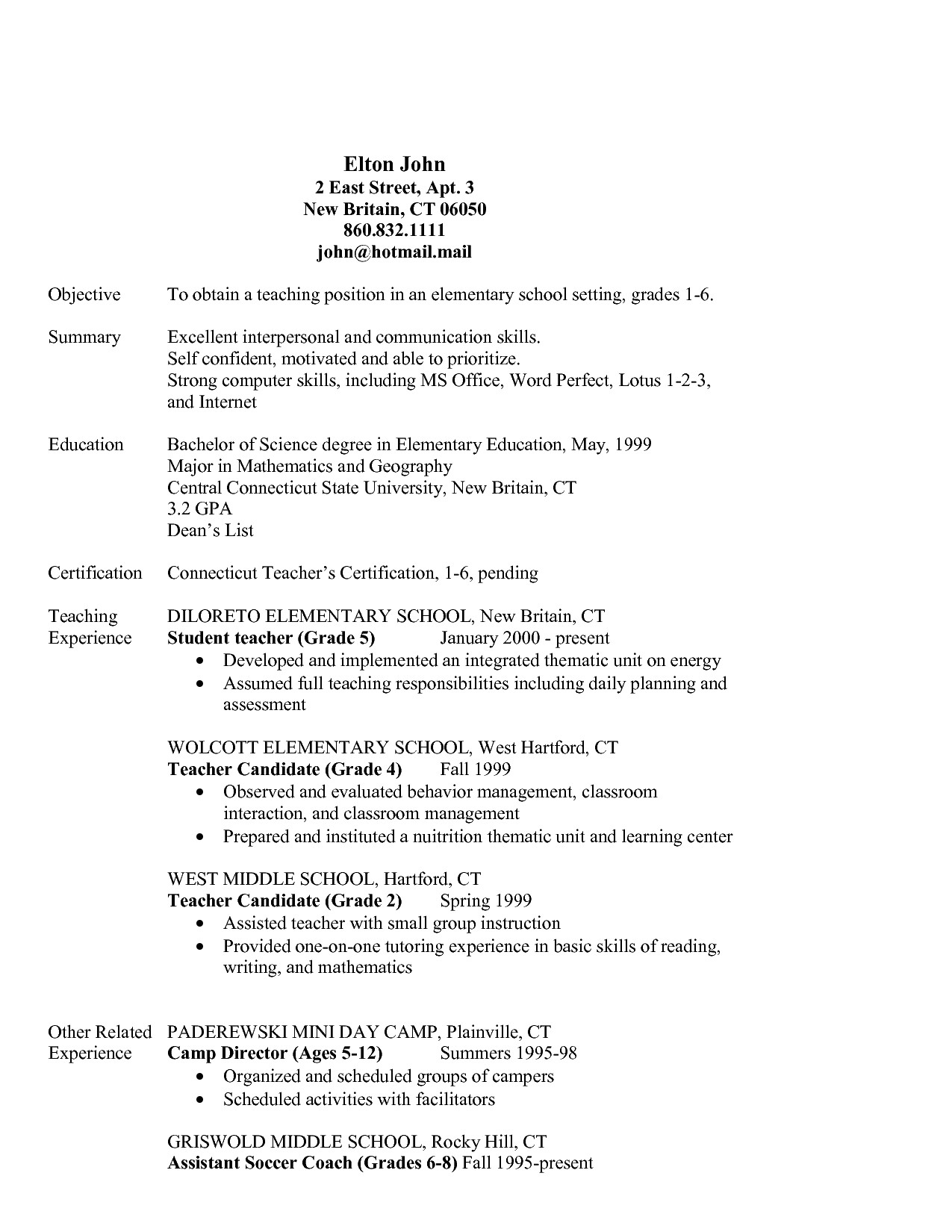 Sahm Resume Sample Fantastic Sahm Resume Examples with Enchanting Resume