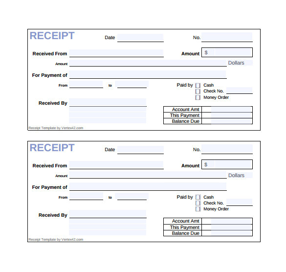Sales Receipt Template Pdf 18 Sales Receipt Template Download for Free Sample Templates