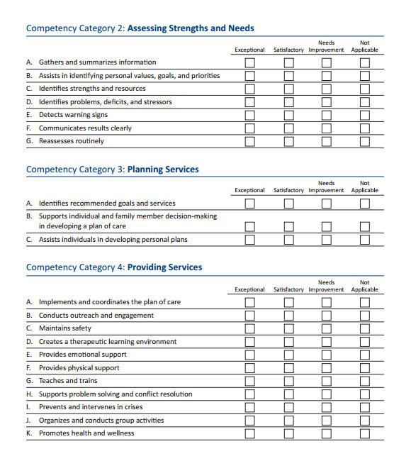 Sales Skills assessment Template Skills assessment 8 Download Free Documents In Pdf