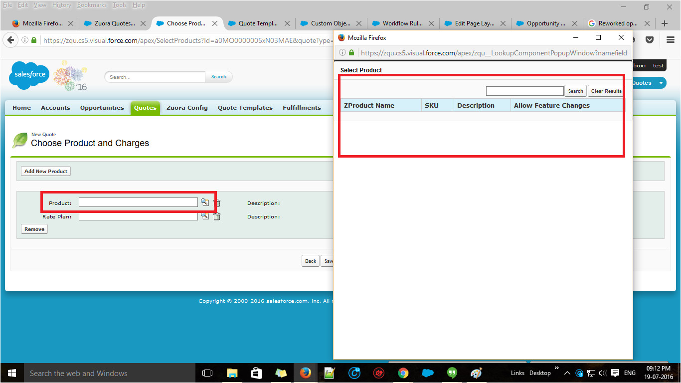 Salesforce Sandbox Templates Apex Unable to Retrieve Quote Templates and Products