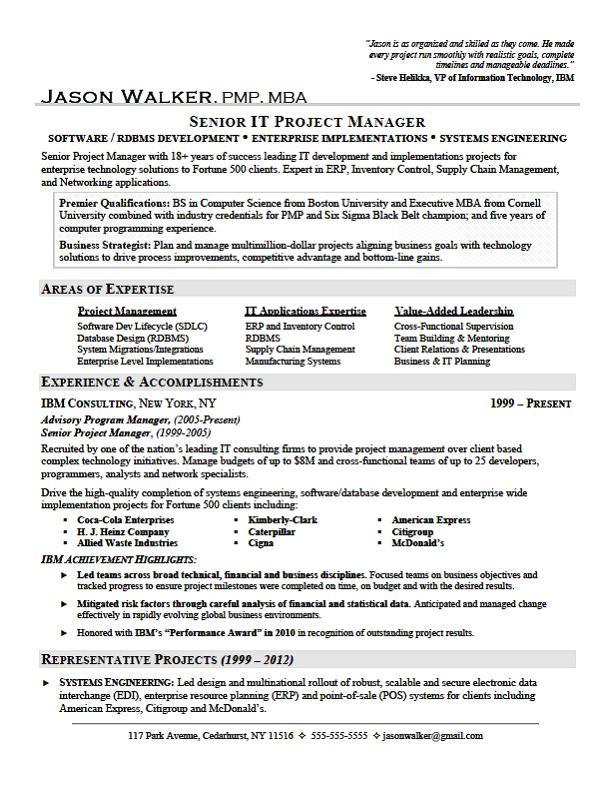 resume achievements