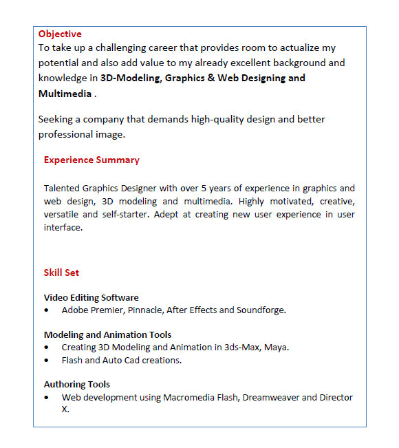 Sample Achievements In Resume for Freshers 8 Resume for Freshers Templates Free Samples Examples