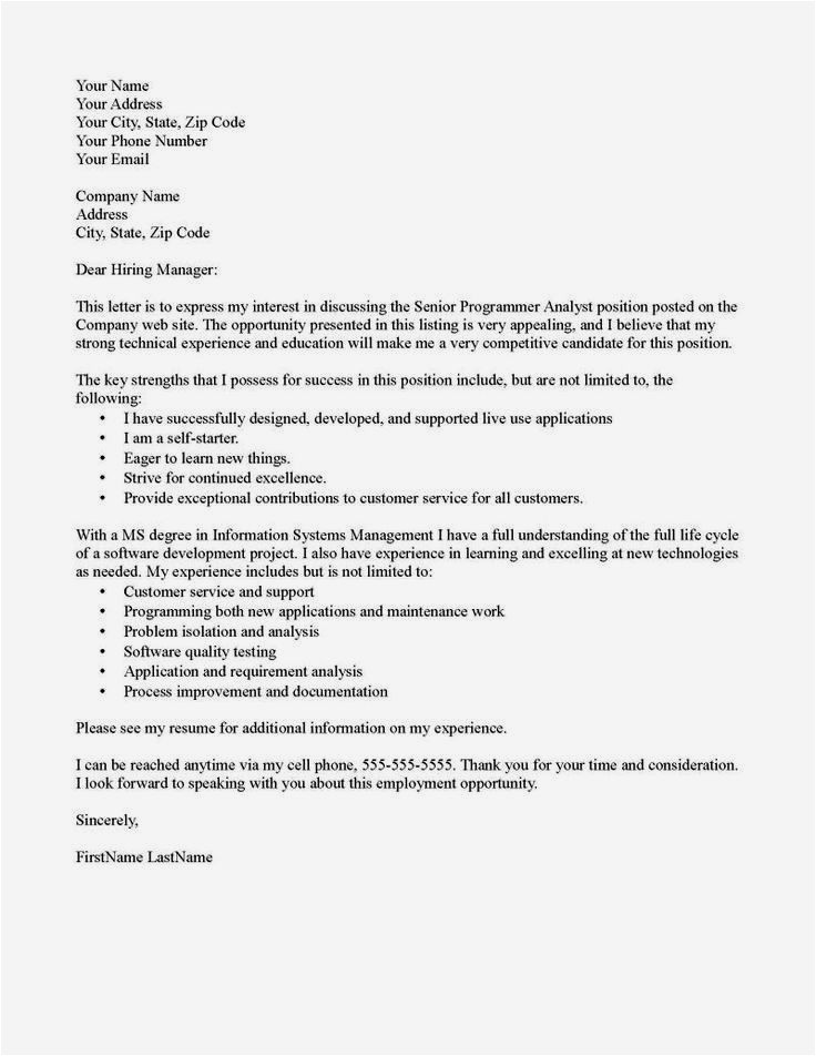 Sample Cover Letter for A Teaching Position with No Experience Cover Letter for Teaching Job with No Experience Resume