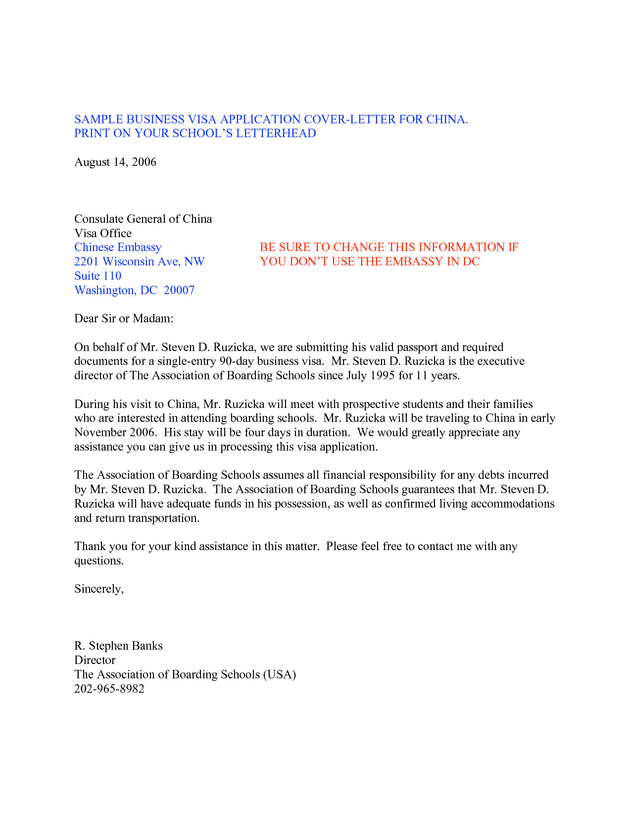 Sample Cover Letter for Embassy Job Sample Letter for Visa Request to Embassy Best Photos Of