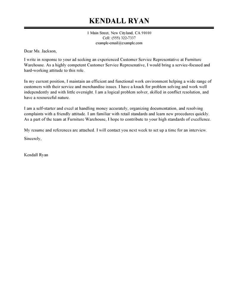 Sample Cover Letter for Sales Representative with No Experience Sales Rep Cover Letter No Experience Customer Service